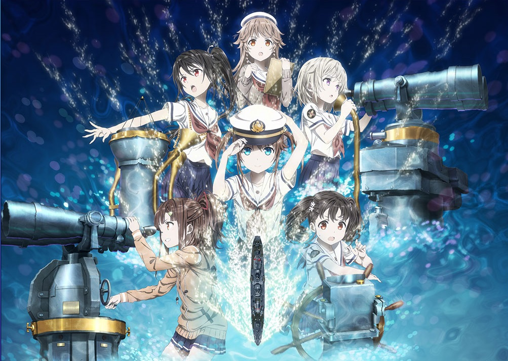 Nova imagem promocional do filme de High School Fleet
