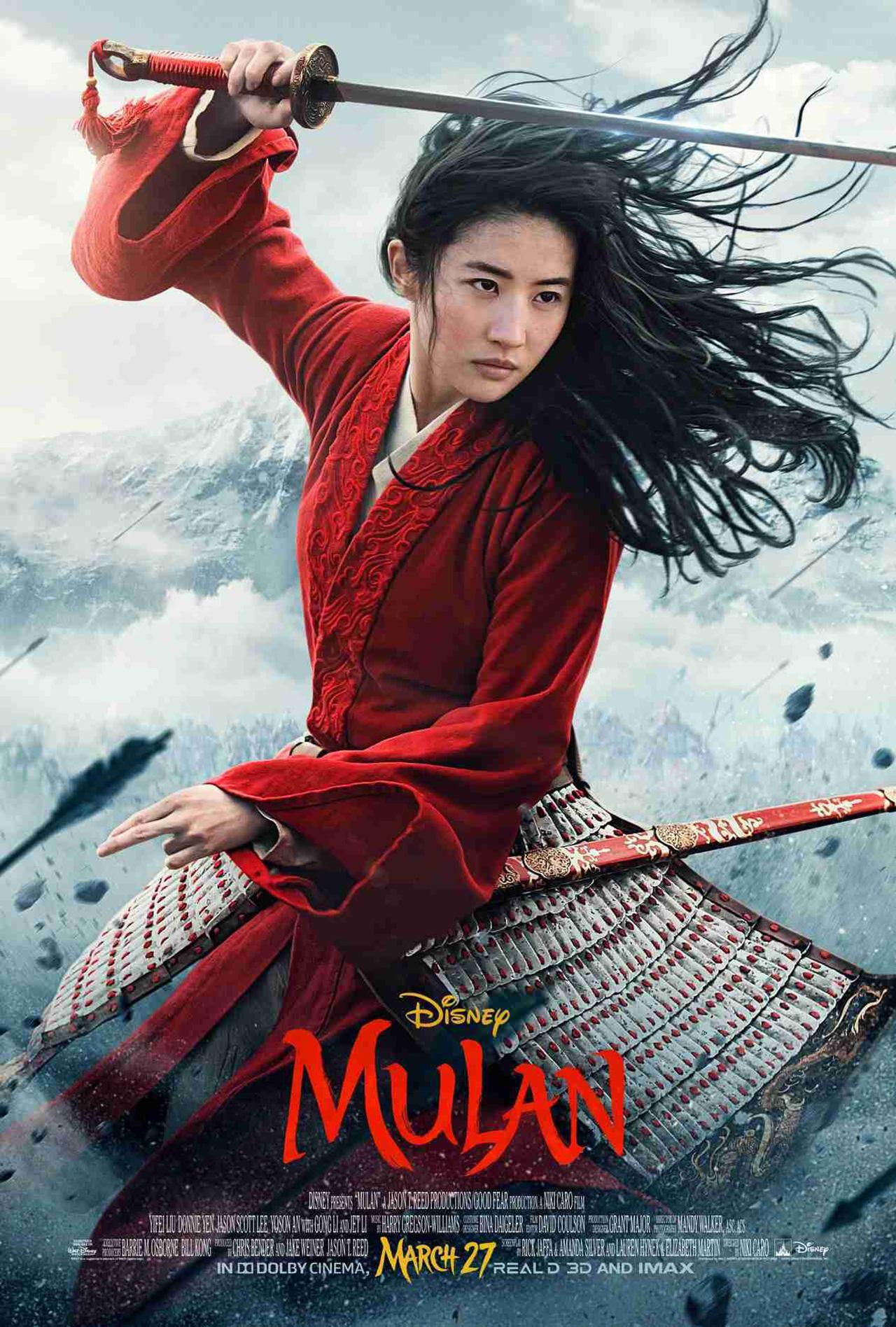 Novo Poster do live-action de Mulan