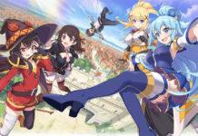 Os 10 personagens mais populares de Konosuba
