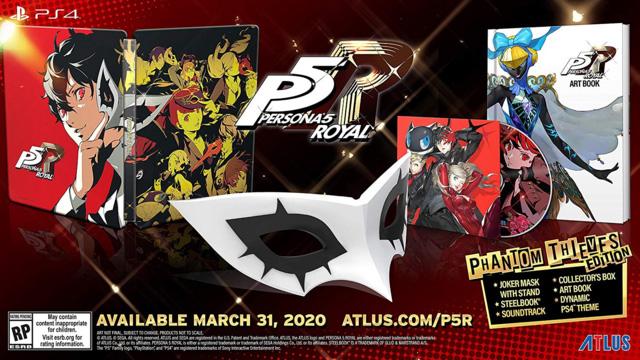 Persona 5 Royal já tem data de lançamento no Ocidente