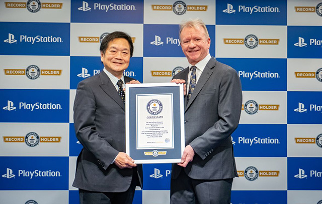 PlayStation no Guiness World Records