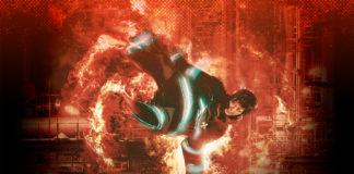 Vídeo e imagem promocional da peça de teatro de Fire Force