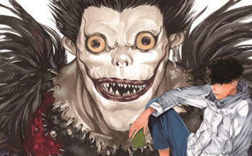 Arte do novo mangá de Death Note