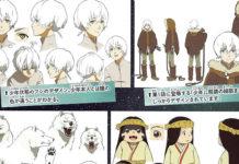 Design de personagens de To Your Eternity