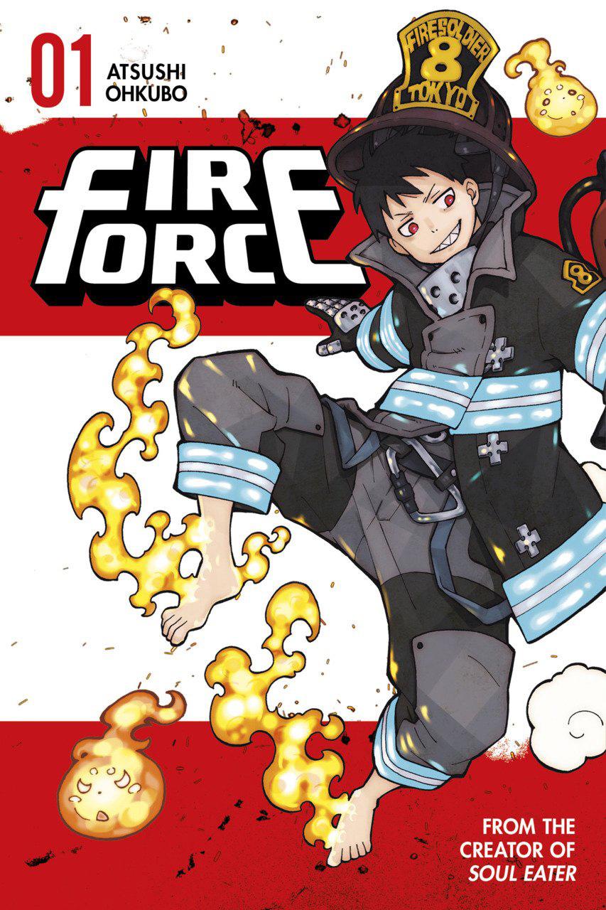 Capa do volume 1 de Fire Force