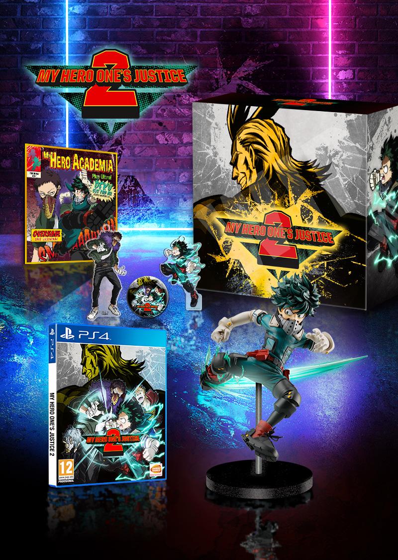 Edição de colecionador de My Hero One's Justice 2