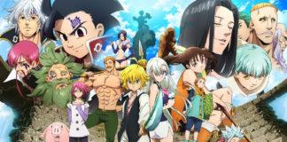 Nanatsu no Taizai 3 é o Pior Anime de 2019