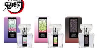 Novos perfumes de Kimetsu no Yaiba