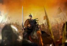 Sequência de abertura de Romance of the Three Kingdoms XIV