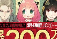 Spy x Family já tem 2 milhões de cópias