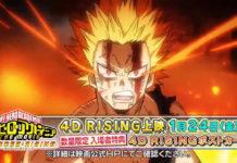 Trailer de My Hero Academia HEROES:RISING revela novas cenas
