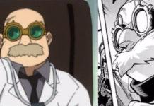 Depois da polémica este é o novo nome do médico de My Hero Academia