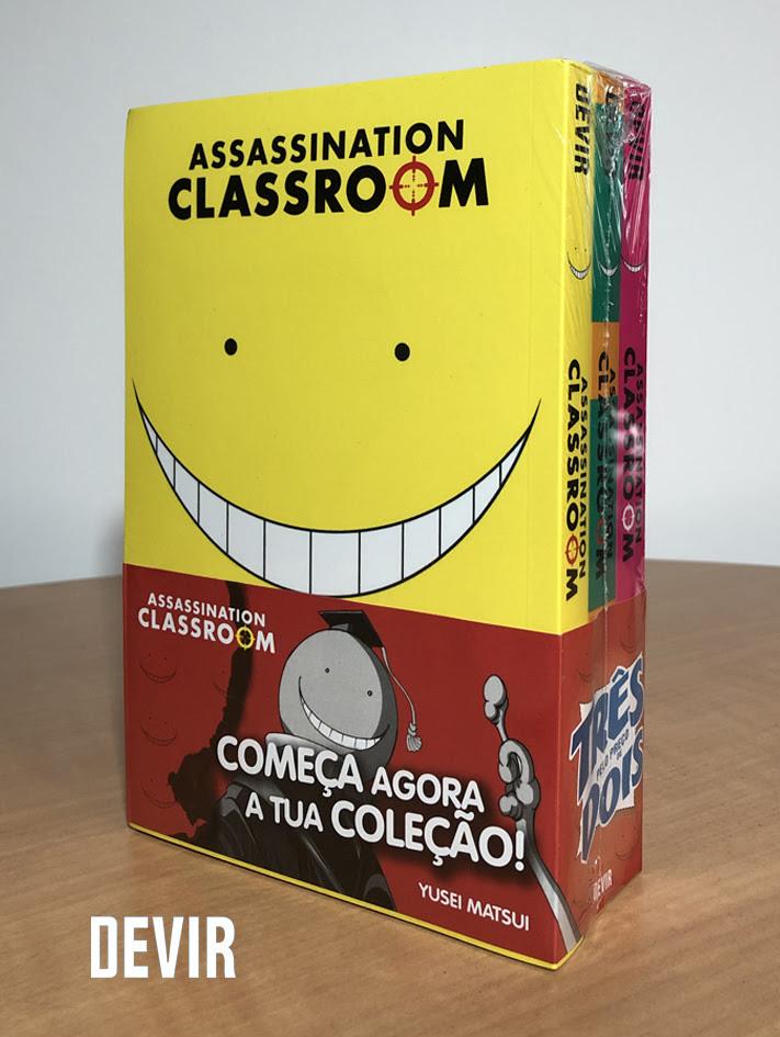 Devir vai lançar Pack de Assassination Classroom