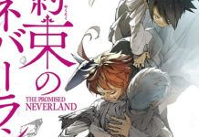 Esta é a capa do volume 18 de The Promised Neverland