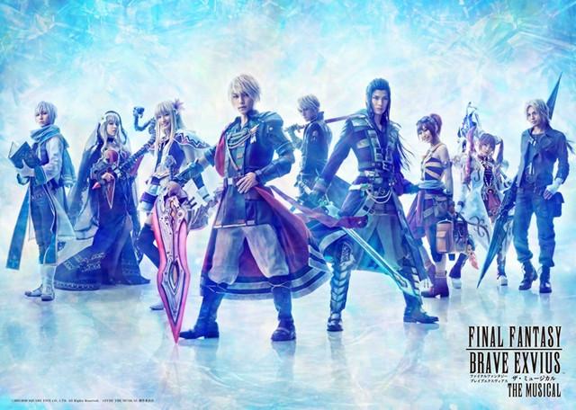 Fotos do musical de Final Fantasy Brave Exvius