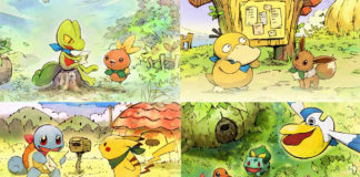 Mais detalhes sobre o Pokémon Mystery Dungeon: Rescue Team DX e Pokémon Home