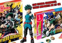 My Hero Academia com áudio português em DVD/BD pela Selecta Vision