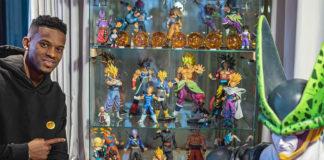 Nelson Semedo, jogador da seleção portuguesa e Barcelona mostra a sua enorme coleção de Dragon Ball
