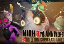 Nioh com mais de 3 milhões de cópias