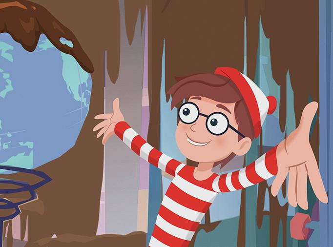 Onde Está o Wally? no Canal Panda dia 29 de Fevereiro