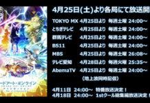 Revelada data de estreia da 2ª parte de Sword Art Online: Alicization – War of Underworld