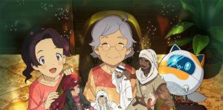 A Manga Productions da Arábia Saudita e Toei Animation revelam série animada Future's Folktales