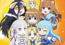 Anime de Isekai Quartet vai continuar