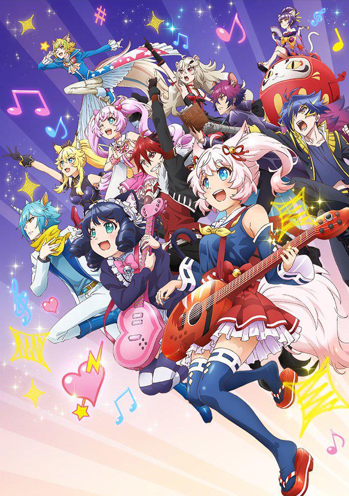 Anunciada nova série anime de Show By Rock!!