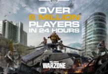Call of Duty: Warzone com 6 milhões de jogadores em 24 horas