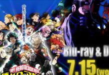 DVD/BD de My Hero Academia: Heroes Rising em Julho