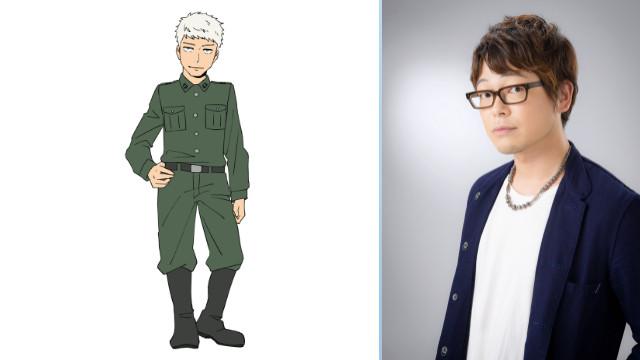 Evan Endroch - Kazuyuki Okitsu (Serpico em Berserk)