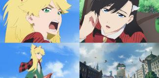 Screenshots da série anime de Burn the Witch