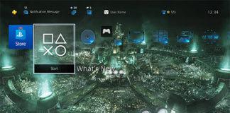 Tema dinâmico gratuito de Final Fantasy VII Remake