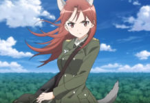 Trailer da série anime Strike Witches: Road to Berlin
