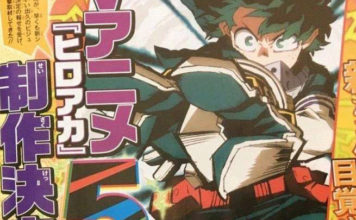 Confirmada 5ª temporada de My Hero Academia