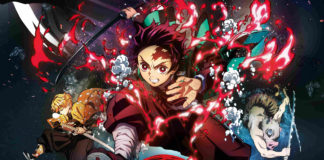 Filme anime de Kimetsu no Yaiba em Outubro