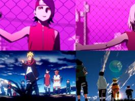Nova abertura Boruto presta homenagem a Naruto