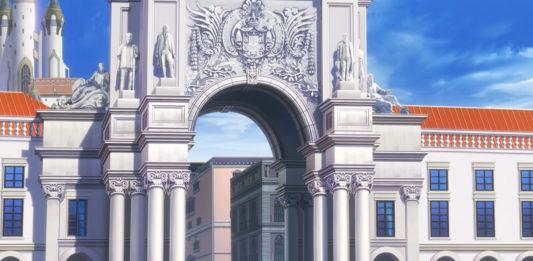 Lisboa na série anime Lapis Re:LiGHTs